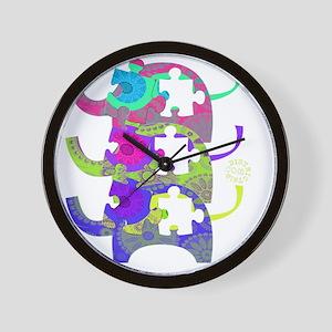 autistic_28 Wall Clock