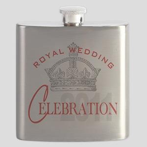 Royal Wedding Celebration 2 Flask
