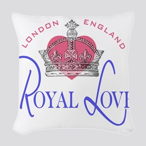 Royal Love 1 Woven Throw Pillow