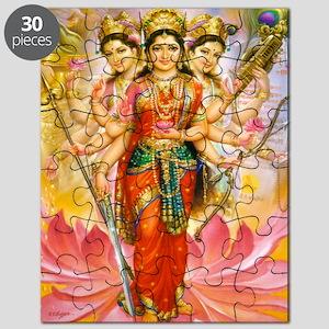 Tridevi_Hindu_Three_Goddesses_Stadium_Blank Puzzle