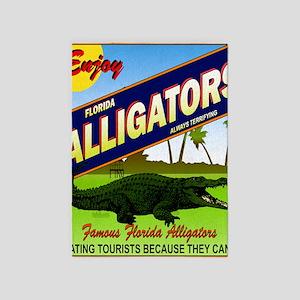 FLORIDA ALLIGATORS_STADIUM_BLANKET 5'x7'Area Rug