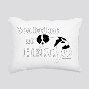 HerroPuppy Rectangular Canvas Pillow