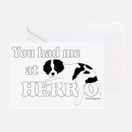 HerroPuppy Greeting Card