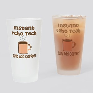Instant Echo Tech coffee Drinking Glass