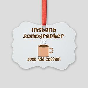 Sonographer Picture Ornament