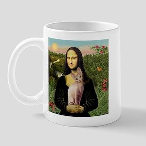 Sphynx Cat & Mona Lisa Mug