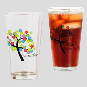 Echo Tech Tree Bubbles Drinking Glass