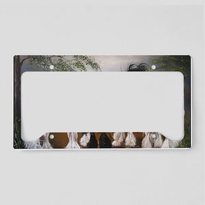 Stallions License Plate Holder