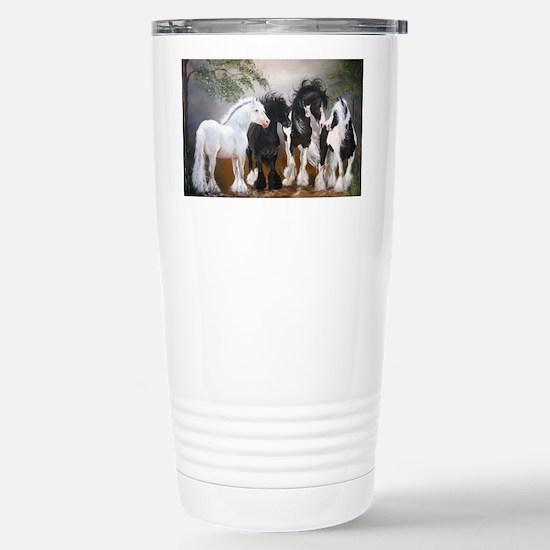 Stallions Stainless Steel Travel Mug
