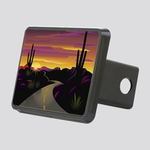 SWSunsetHwy_62x52 Rectangular Hitch Cover