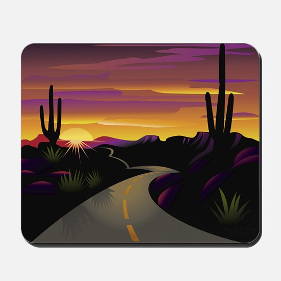 SWSunsetHwy_62x52 Mousepad