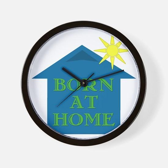 Born_Home_11 Wall Clock