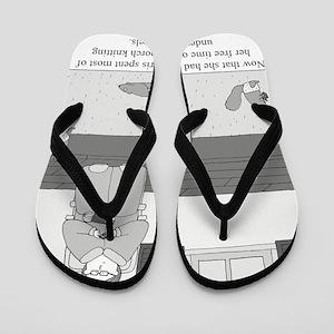 Underpants for Squirrels Flip Flops