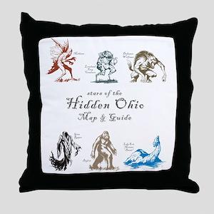 StarsOfHiddenOhio Throw Pillow