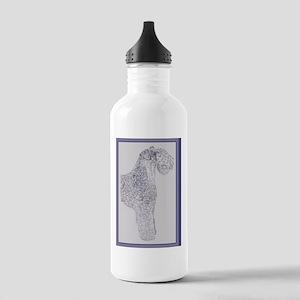 Kerry_Blue_Terrier_Kli Stainless Water Bottle 1.0L