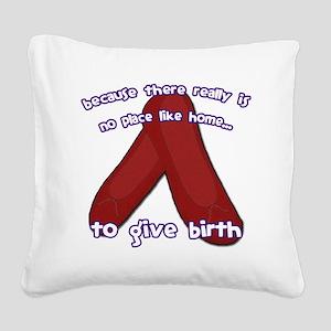 Oz_Birth Square Canvas Pillow