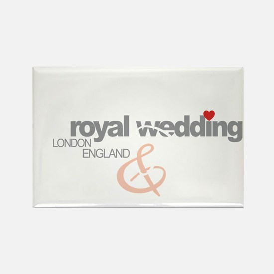 Royal Wedding P  P 2 Rectangle Magnet