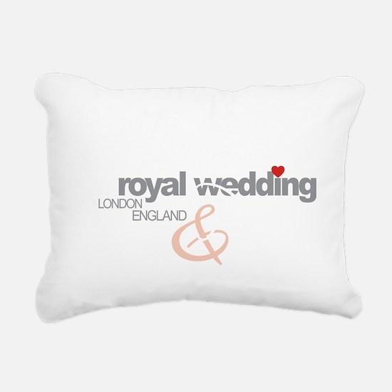 Royal Wedding P  P 2 Rectangular Canvas Pillow