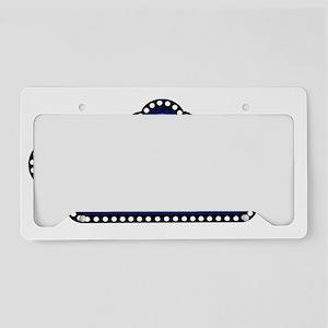 showbizpizzazone_logo License Plate Holder