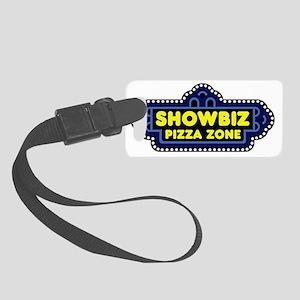 showbizpizzazone_logo Small Luggage Tag