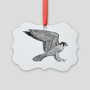 falcon-black Picture Ornament