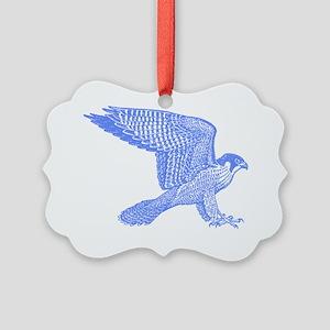 falcon-blue Picture Ornament