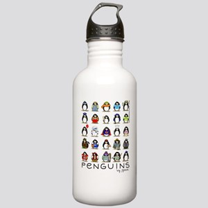 Lots of Penguins-new Stainless Water Bottle 1.0L