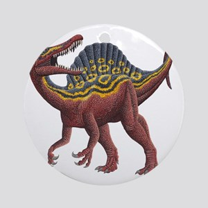 Spinosaurus aegypticus Round Ornament