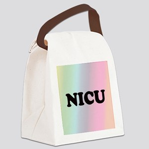 Front Page NICU Canvas Lunch Bag