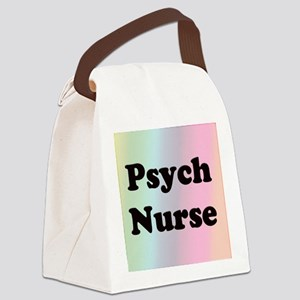 Front Page Psych Canvas Lunch Bag