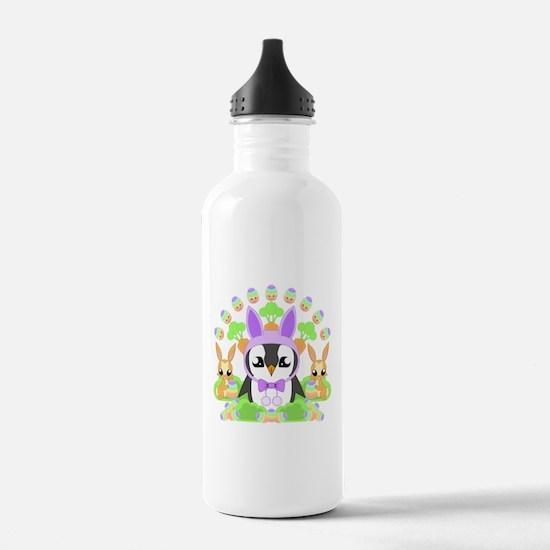 Hoppy Easterguin Water Bottle