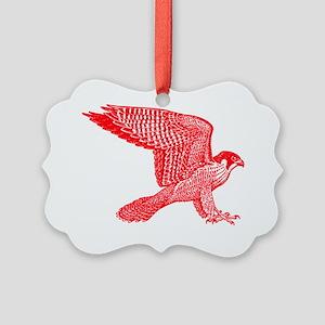 falcon-red Picture Ornament
