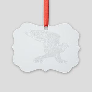 falcon-white Picture Ornament