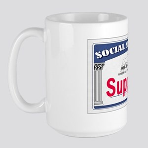 Social Security Large Mug