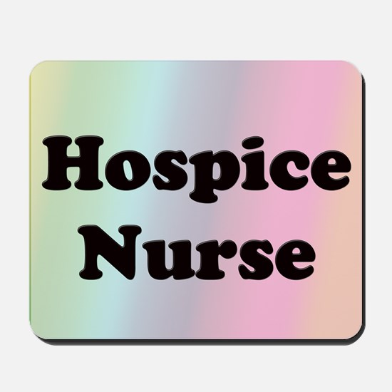 Front Page Hospice Mousepad