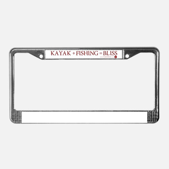 KFB w/Top Margin License Plate Frame