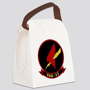 VAQ-33 Firebirds Canvas Lunch Bag