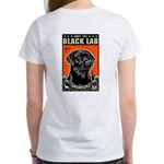 Obey the Black LAB! 2-sided 07 Women's T