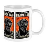 Obey the Black Lab! Coffee Mug
