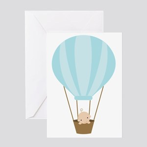 balloonbaby1 Greeting Card