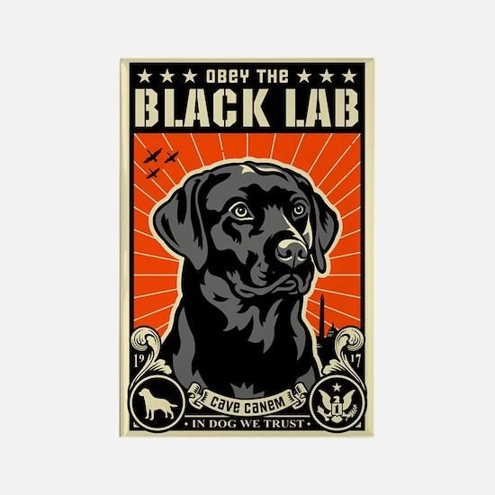 Obey the Black LAB! 07 Propaganda Magnet