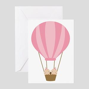 balloonbaby5 Greeting Card