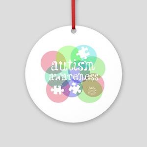 autistic_37 Round Ornament
