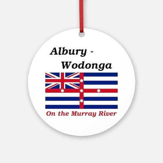 Albury-Wodonga-RedMurray Round Ornament