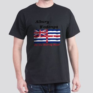 Albury-Wodonga-RedMurray Dark T-Shirt