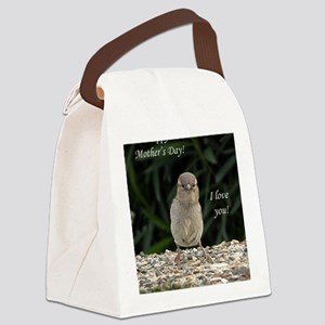 Chick Happy Mothers Day Canvas Lunch Bag