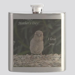 Chick Happy Mothers Day Flask