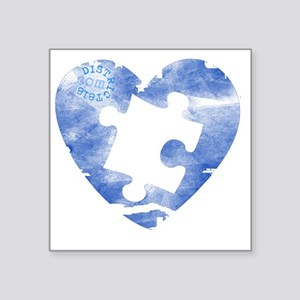 """autistic_39 Square Sticker 3"""" x 3"""""""