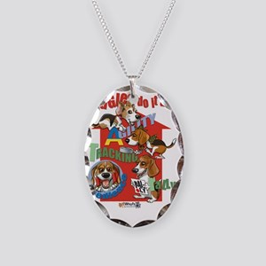 Beagles16x20 Necklace Oval Charm