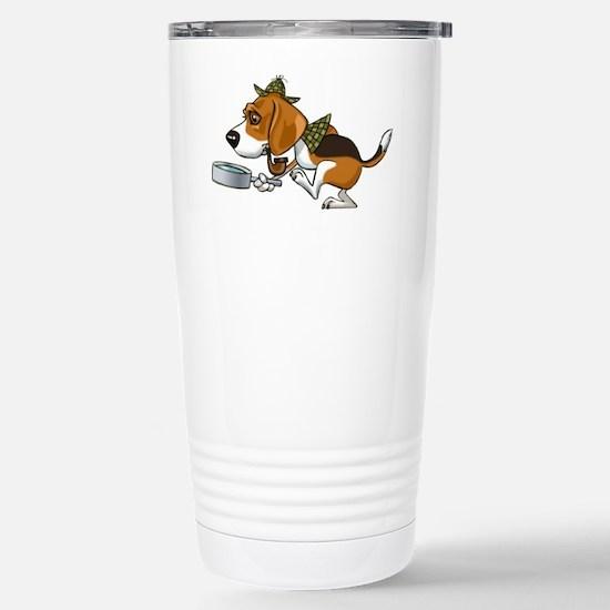 Sherlockbeagle Stainless Steel Travel Mug